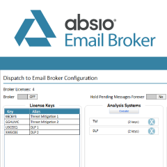Absio Email Broker - Encrypted Email Integration catalogue image
