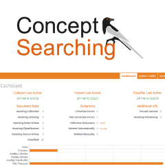 conceptClassifier from Concept Searching Catalogue Image - Data Security and Information Governance platform auto-classification software